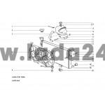 Ventilátor chladenia motora
