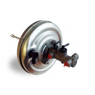 Zostava posilňovača brzdovej sily a hlavného brzdového valca