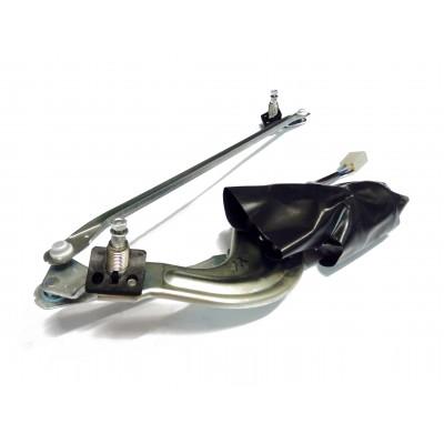 Mechanizmus predných stieračov s motorčekom