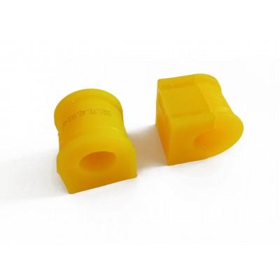 Uloženie predného stabilizátora polyuretánové 2ks